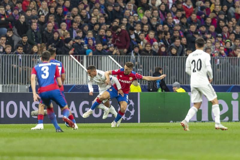 Die UEFA verficht Punktspiel an Luzhniki-Stadion, CSKA - Real Madrid stockbilder