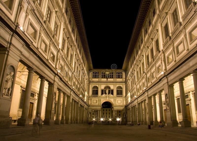 Die Uffizi Galerie stockfoto