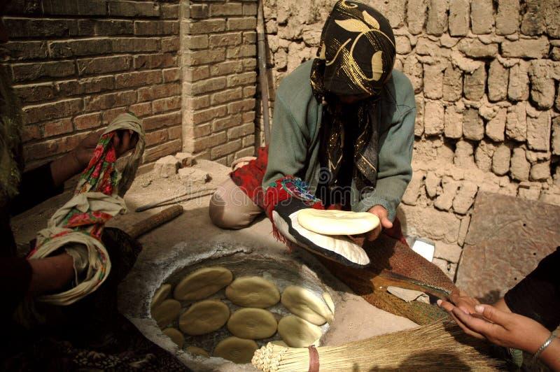 Die Uighurfrau in Kashgar lizenzfreie stockfotografie