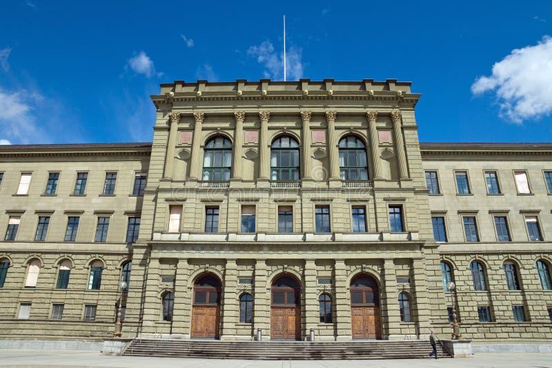 Die Universität von Zürich lizenzfreies stockfoto