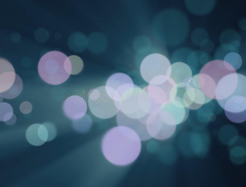 Die unscharfen bunten Lichter am Hintergrund lizenzfreie stockfotografie