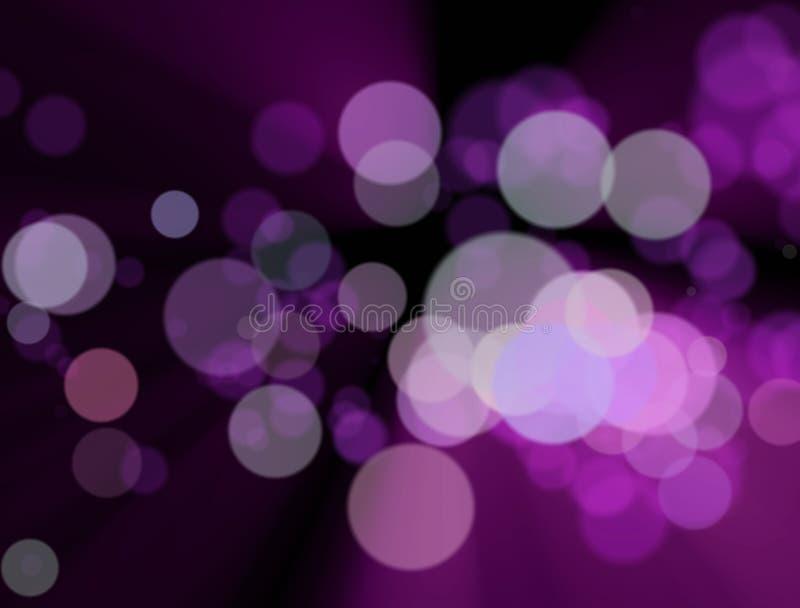 Die unscharfen bunten Lichter am Hintergrund stockfotografie