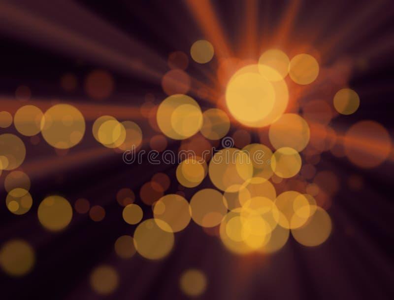Die unscharfen bunten Lichter am Hintergrund lizenzfreies stockfoto