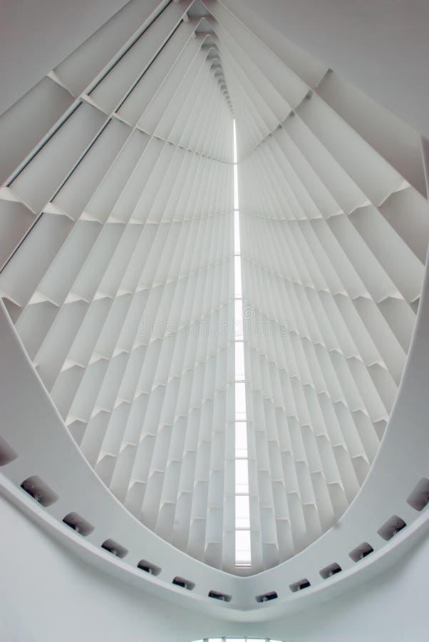 Die ursprüngliche Haube des Museums in Milwaukee, Wisconsin, USA lizenzfreies stockbild