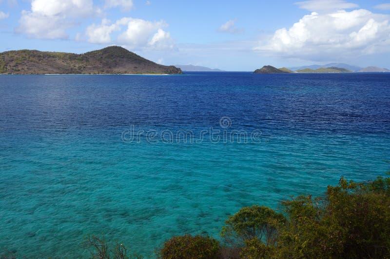 Die US-Jungferninseln lizenzfreie stockfotos