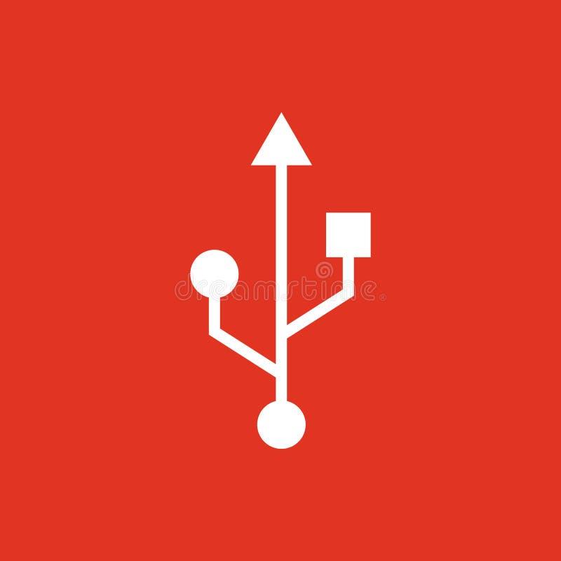Die Usb-Ikone Übertragung Und Verbindung, Daten, Usb-Symbol Ui Web ...