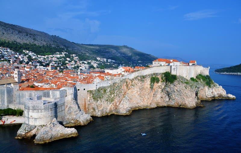 Die verstärkte Stadt von Dubrovnik - Fort Bokar lizenzfreie stockfotos