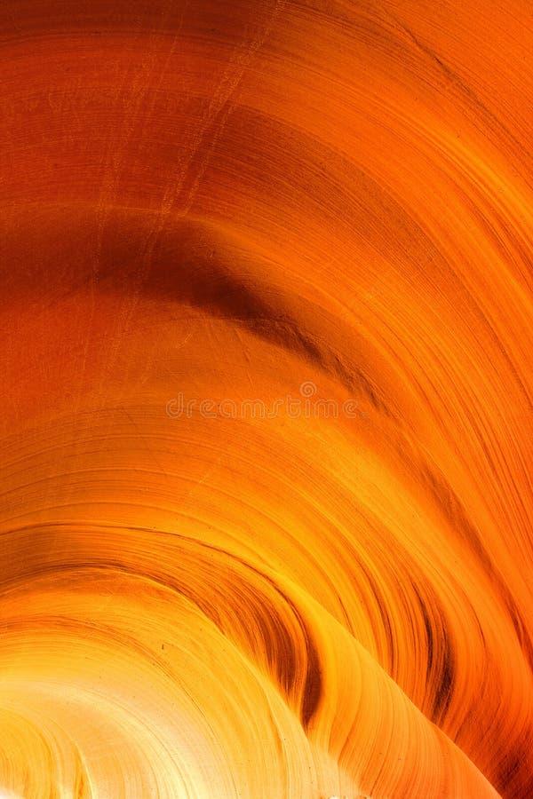 Die Wände der untereren Antilopen-Schlucht stockbilder