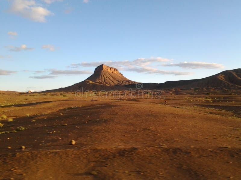 Die Wüste lizenzfreie stockfotos