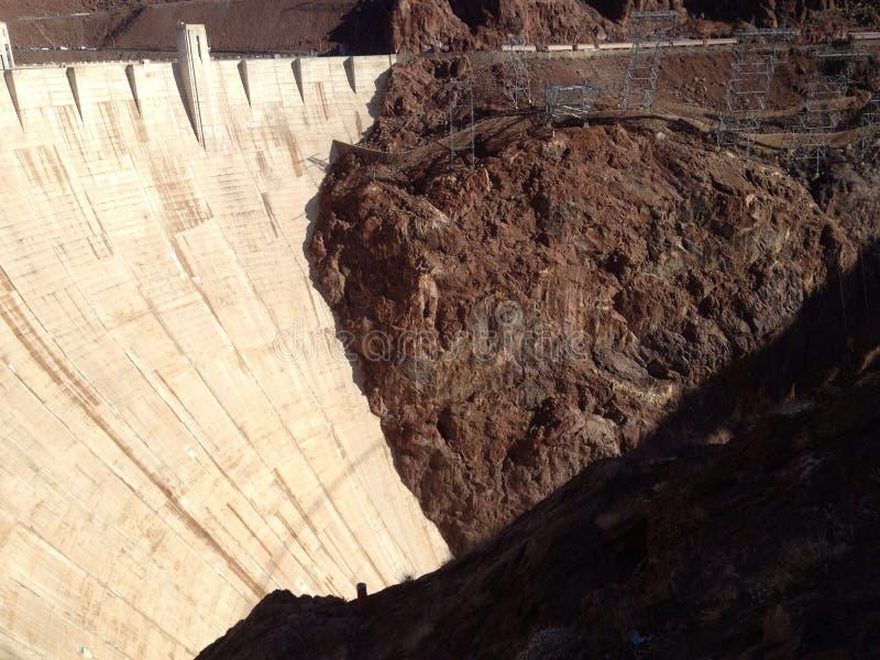 Die Wand des Hoovers lizenzfreies stockbild