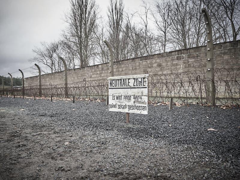 Die Wand wo Gefangene, wo gesetzt zum Tod lizenzfreie stockfotografie