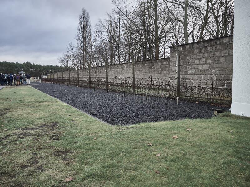 Die Wand wo Gefangene, wo gesetzt zum Tod lizenzfreie stockbilder