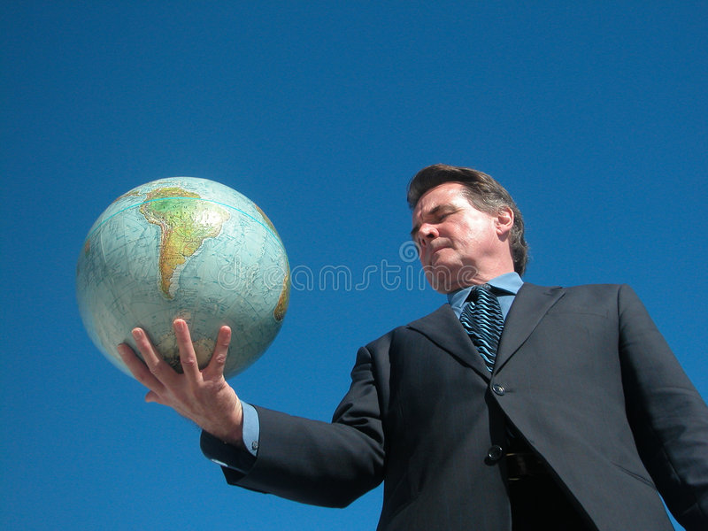 Die Welt besitzen lizenzfreie stockfotos