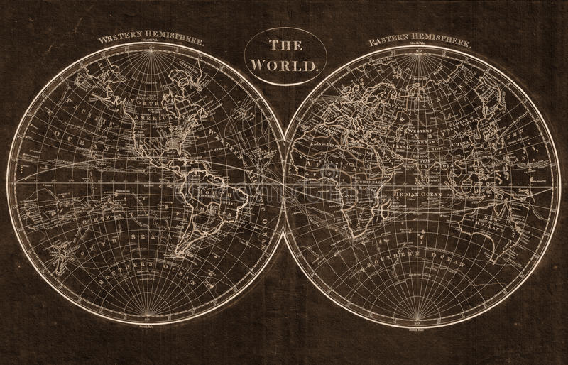 Die Weltkarte vektor abbildung
