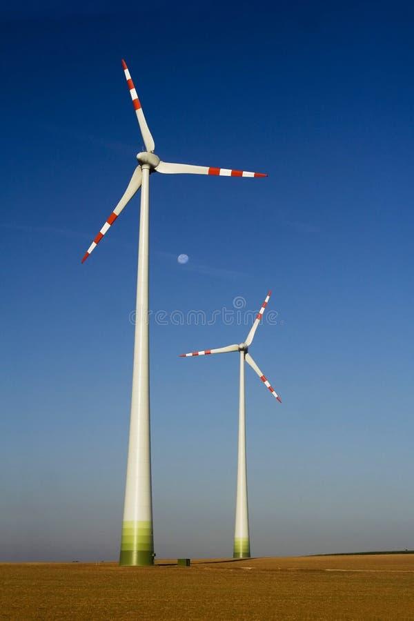 Die Windkraftanlage Kostenloses Stockfoto