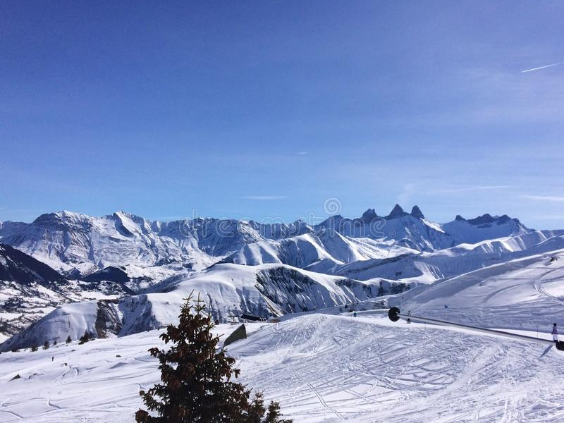 Die winter's Feiertage lizenzfreie stockbilder