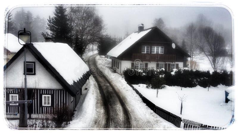 Die Winterzeit lizenzfreies stockbild