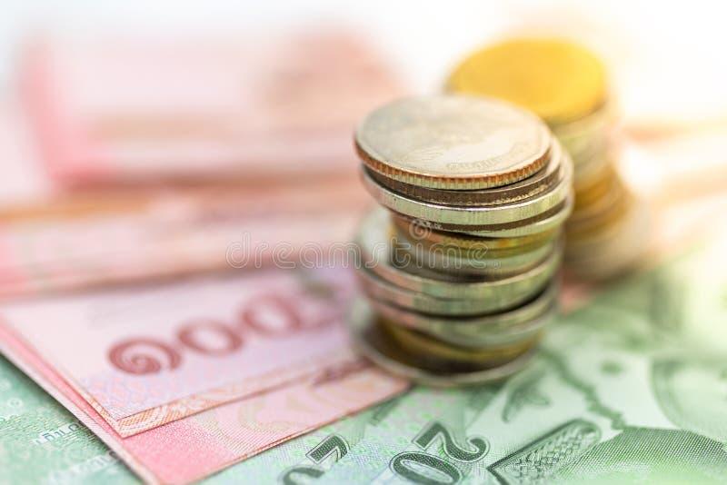 Die wirtschaftliche Stabilität Thailands, der Rhythmus des Marktanteilstreits, die Nutzung des Risikos, das Geld, das Geschäftsko lizenzfreie stockfotos