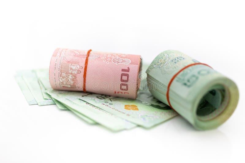 Die wirtschaftliche Stabilität Thailands, der Rhythmus des Marktanteilstreits, die Nutzung des Risikos, das Geld, das Geschäftsko lizenzfreies stockbild