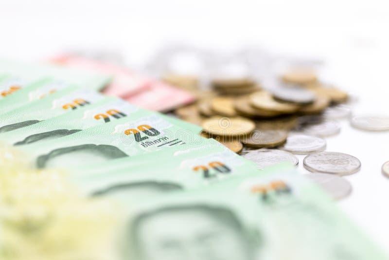 Die wirtschaftliche Stabilität Thailands, der Rhythmus des Marktanteilstreits, die Nutzung des Risikos, das Geld, das Geschäftsko stockbilder