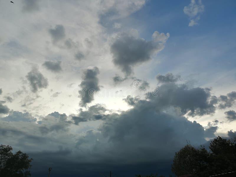 Die wolk die ik zou willen om schreeuwen royalty-vrije stock foto
