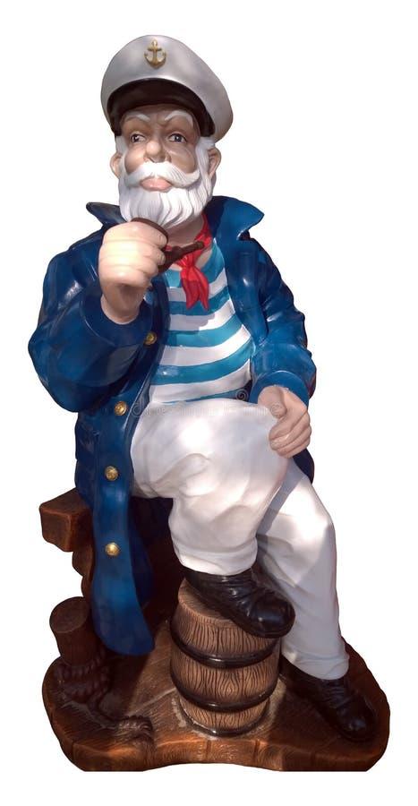 Die Zahl eines Seemanns lizenzfreie stockbilder