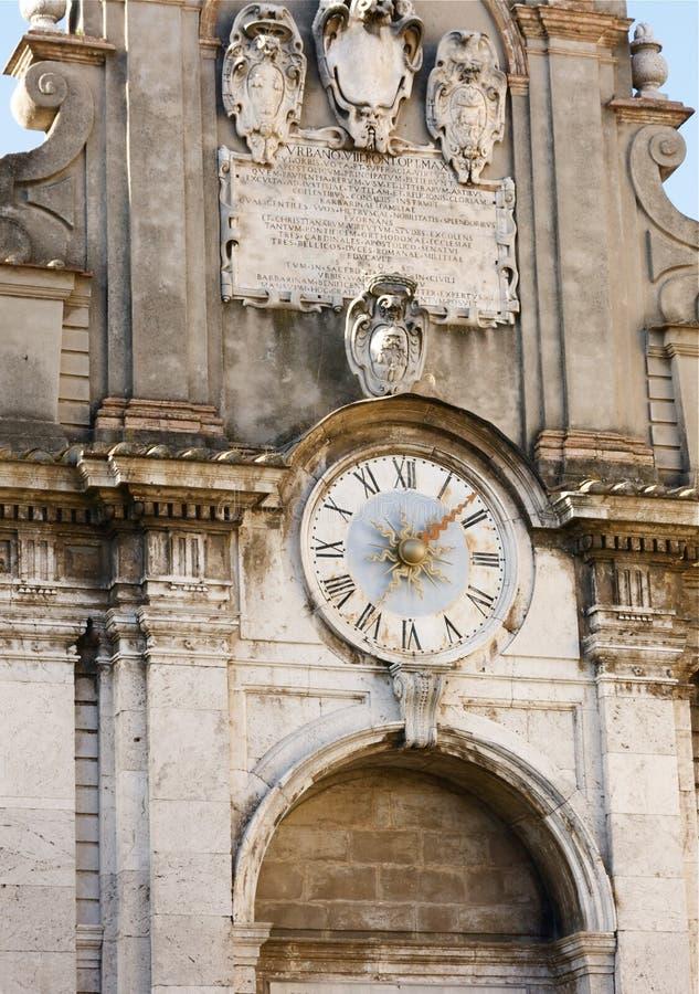 Die Zeit, Spoleto stockbilder