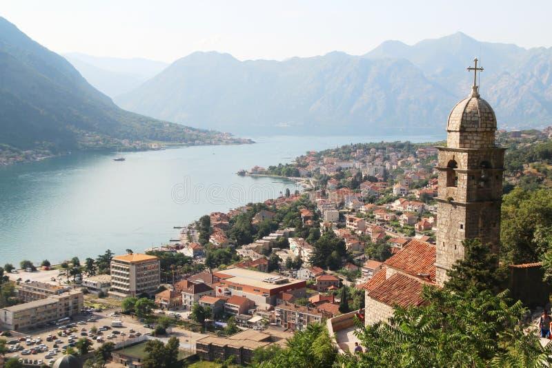 Die Zitadelle in Kotor, Montenegro stockfoto