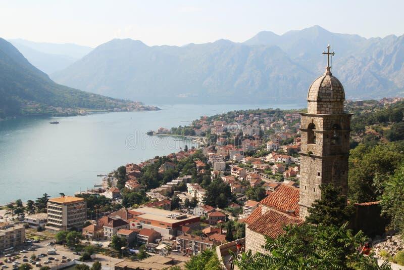 Die Zitadelle in Kotor, Montenegro stockfotografie
