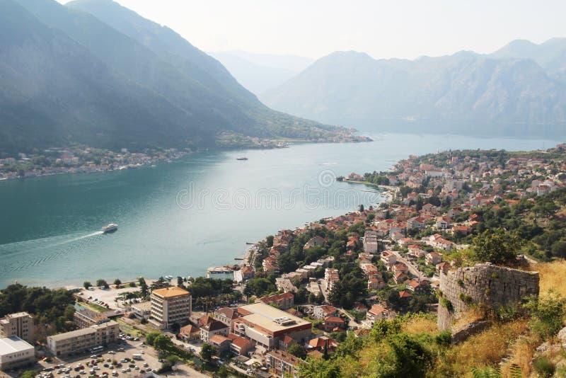 Die Zitadelle in Kotor, Montenegro lizenzfreie stockfotografie