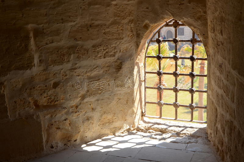 Die Zitadelle von Qaitbay stockbilder