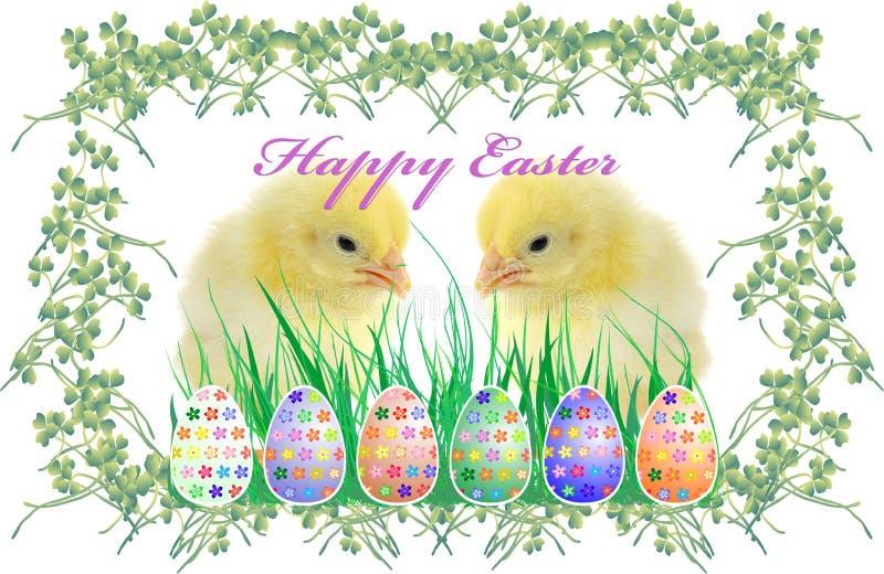 Die Zusammensetzung von Ostern stockbilder