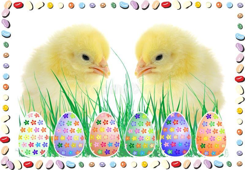 Die Zusammensetzung von Ostern stockbild