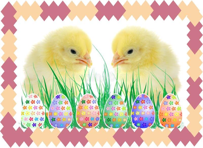 Die Zusammensetzung von Ostern stock abbildung