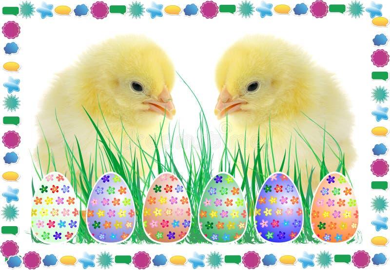 Die Zusammensetzung von Ostern lizenzfreies stockfoto