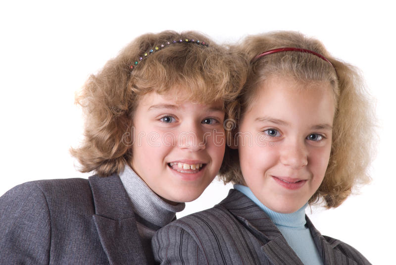 Die Zwillinge lizenzfreie stockfotografie