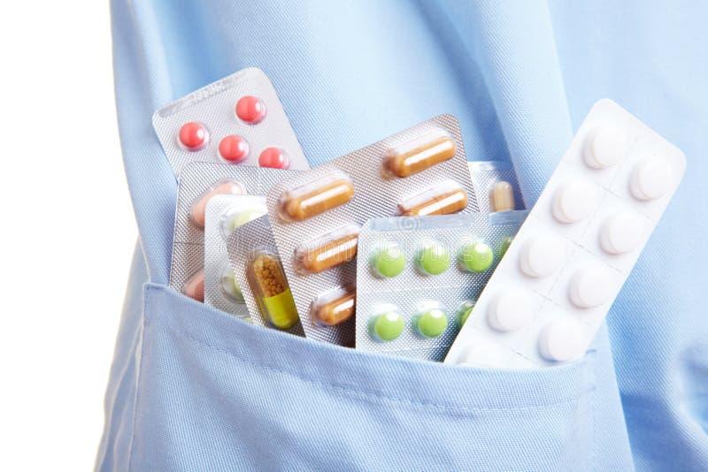 Diebstahl der Pillen lizenzfreies stockfoto