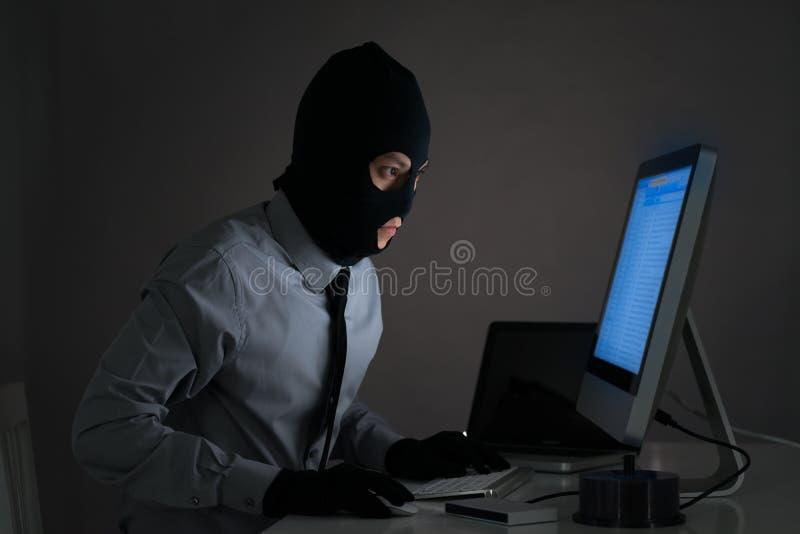 Diebstahl von Informationen lizenzfreie stockfotografie