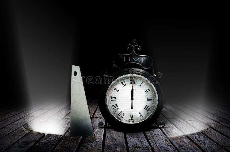 Diebstahl von Zeit stockfotos