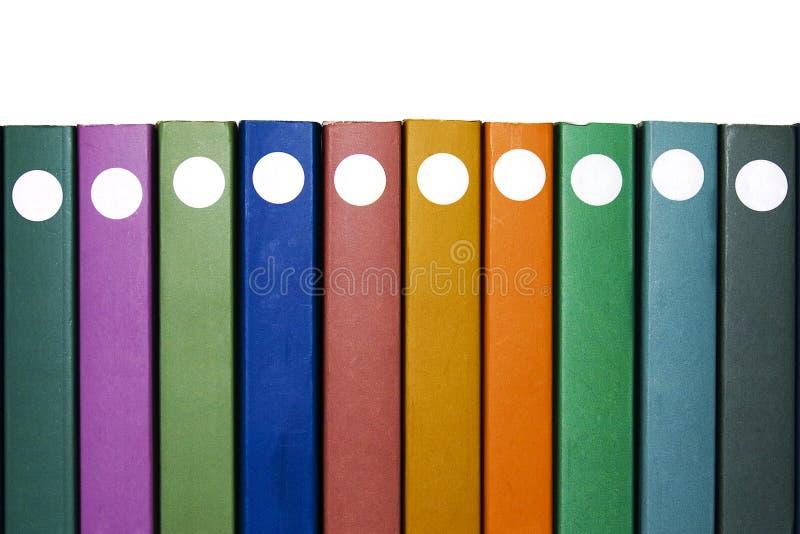 Dieci libri fotografia stock libera da diritti