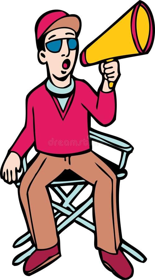 diector стула бесплатная иллюстрация