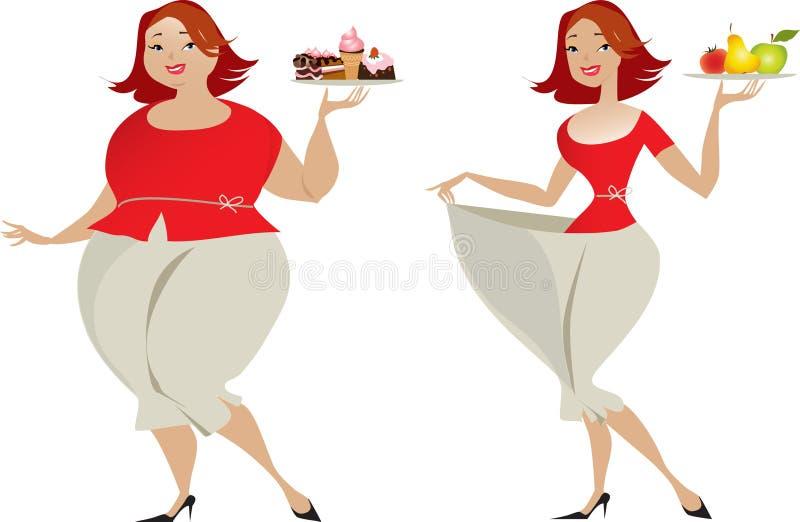 Dieet royalty-vrije illustratie