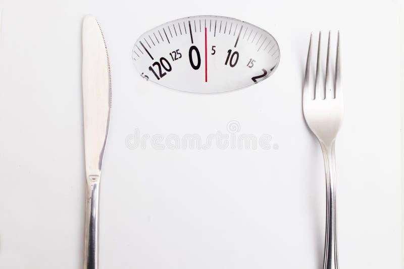 Dieet en het gezonde leven royalty-vrije stock afbeelding