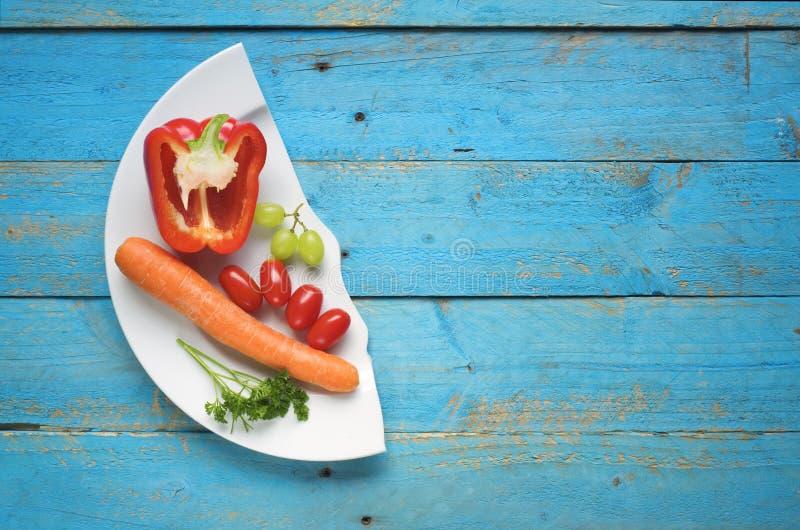 Dieet, gezond voedselconcept stock foto
