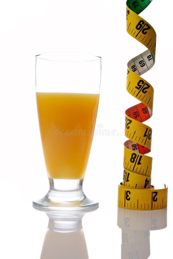 Dieet van sinaasappel stock afbeeldingen