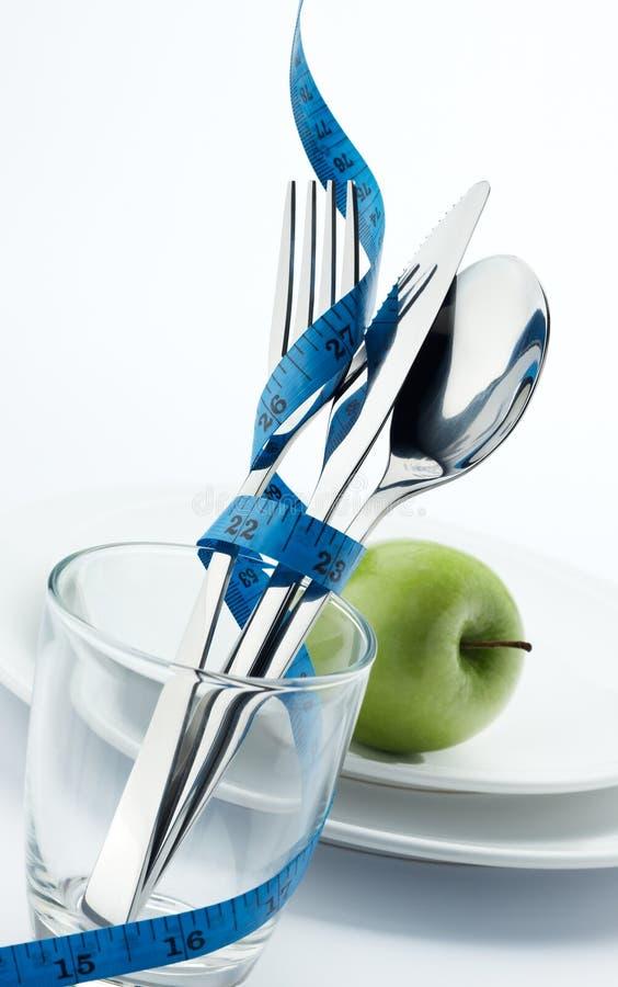 Dieet voor gezond stock foto