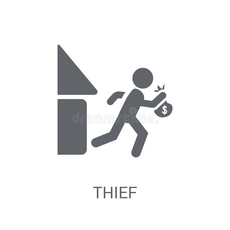Dief Icon  vector illustratie