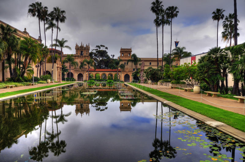 Diego-Balboa-Park stockbild