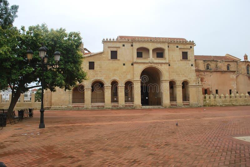 Diego Columbus House royalty-vrije stock fotografie