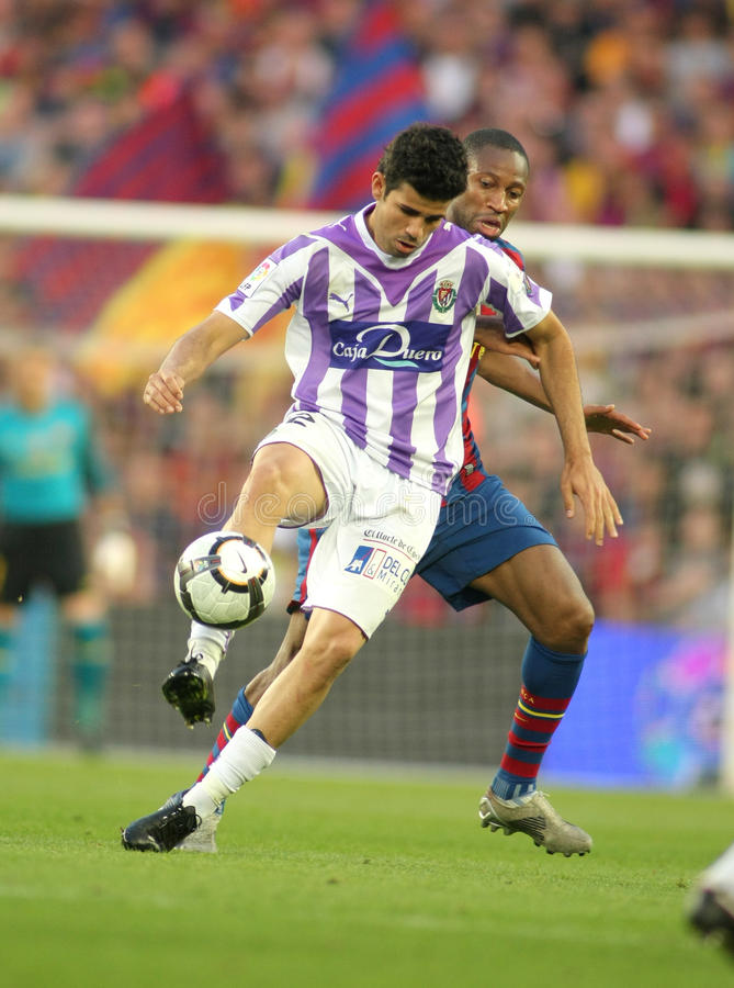 Download Diego Costa of Valladolid editorial stock image. Image of action - 14331254